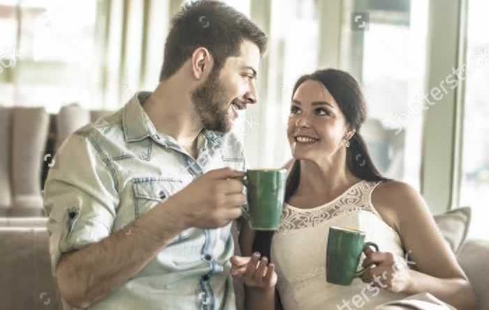 couple-drink-coffee-with-handsome-man